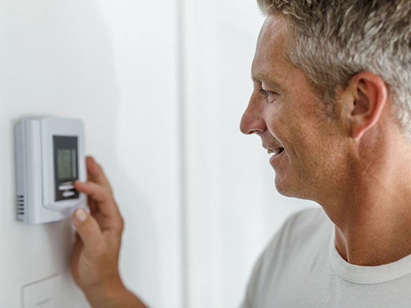 Westchester County, NY Resident Setting Thermostat